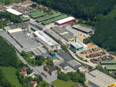 Luftbild Modernisierung Werk Güssing